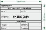 """""""Rechnung geprüft+Datum"""" BS3 - Colop Printer 55 Dater"""