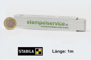Zollstock | 1m | Druck: 4-farbig  (10 Stück)