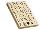 Riesen Alphabet Stempel-Set (30-tlg.)