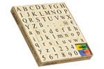 Alphabet-Set mit Groß- und Kleinbuchstaben (69-tlg.)
