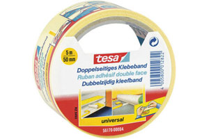 tesa® doppelseitiges Klebeband (5m)