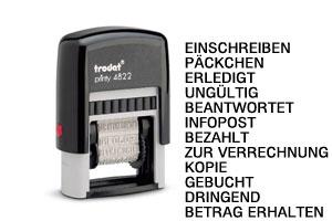 Trodat Printy 4822 (Wortband)