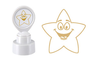 "Colop Motivationsstempel ""Goldener Stern"""