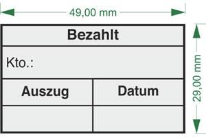 Buchungsstempel - stempelservice.de