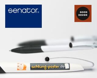 Kugelschreiber Senator Matrix  - Logo Druck: 4-farbig