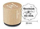 Woodies-Stempel - Geschenk für Dich