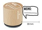 Woodies Stempel - Meins