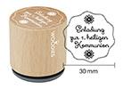 Woodies Stempel - Einladung zur 1. heiligen Kommunion