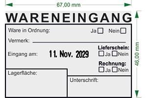 Eingangsstempel online bestellen bei stempelservice.de