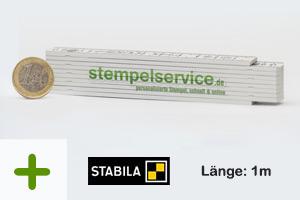Zollstock | 1m | Druck: 4-farbig (500 Stück)