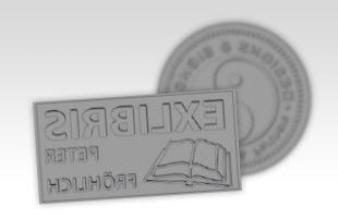 Textplatte für Colop Printer 52