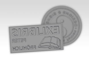 Textplatte für Colop Printer 45