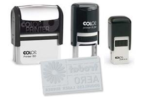 Textplatte Colop Printer 60 Dater (hochkant)
