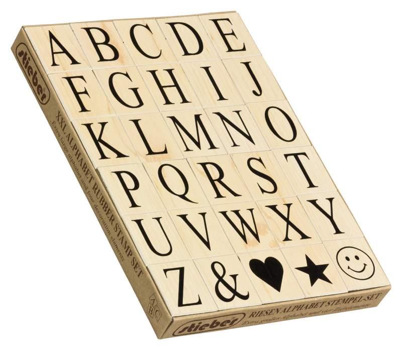 DIY Handwerk Holz Stempel Set 70 St/ück mit Holz Aufbewahrungsbox Vintage Holz Alphabet Buchstaben Stempel f/ür Kartenherstellung
