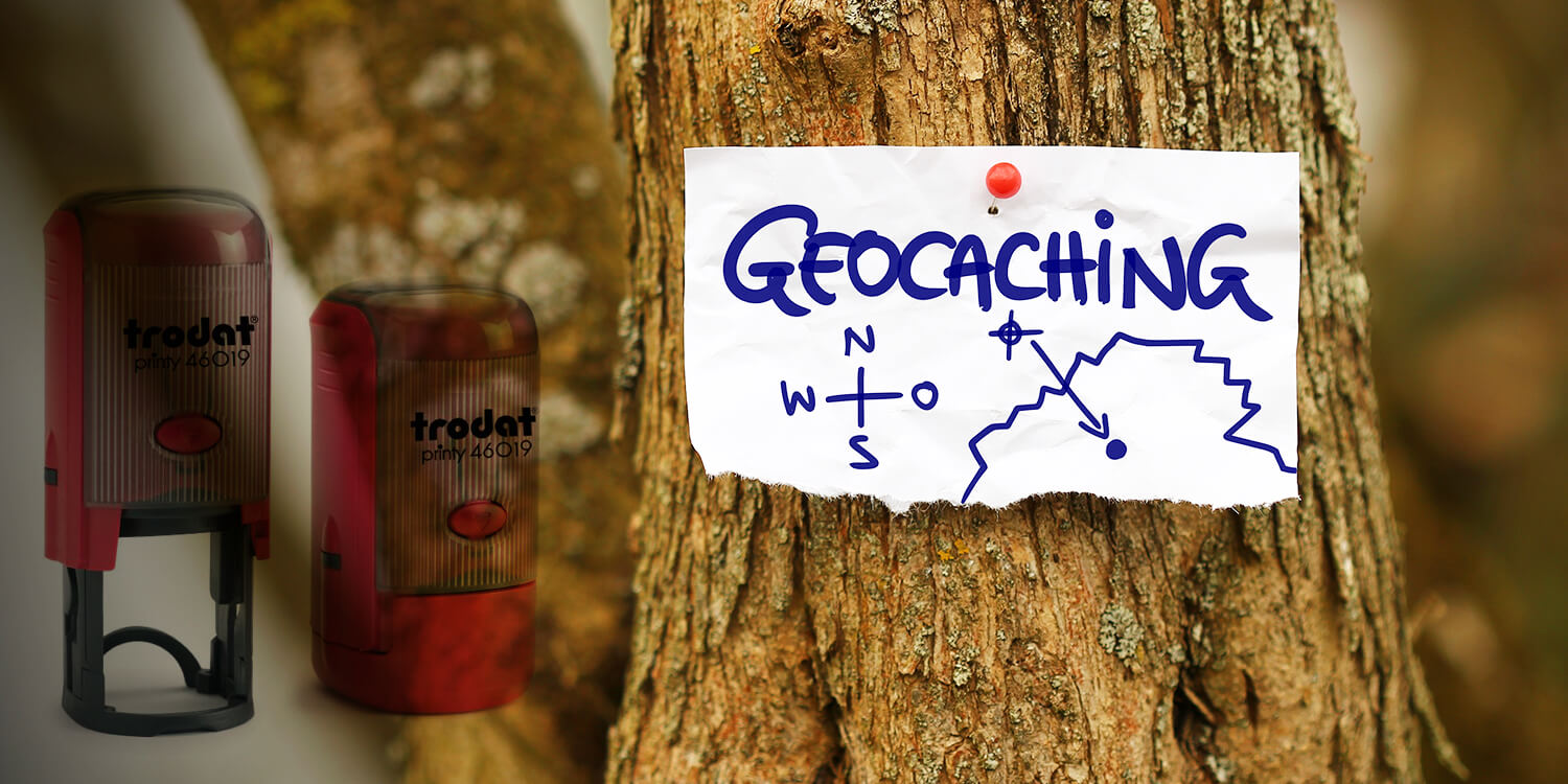 Geocaching Stempel « Cacher » Geocachingstempel