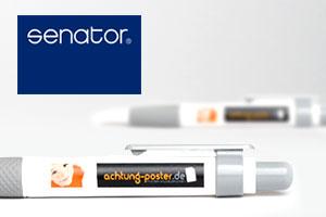 Kugelschreiber Senator Big Pen