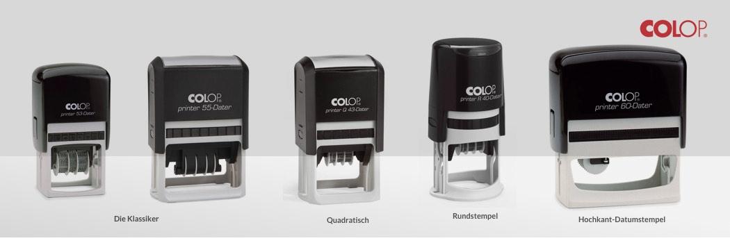 Colop Printer Dater Line Übersicht