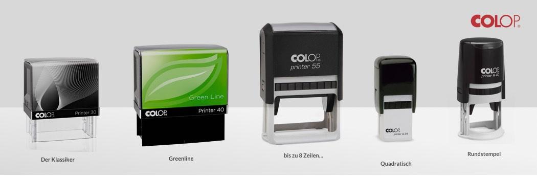 Colop Printer Line Übersicht